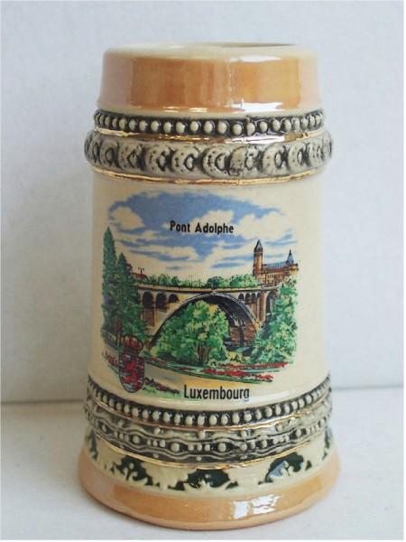 Gutsherrenkrug Luxembourg 8 cm Brücke K18/1