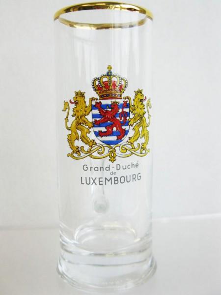 Wodka-Slibowitz-Kännchen Luxembourg Wappen