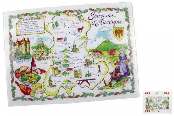 "3119 Glasbrett ""Auvergne"" 38*28cm"